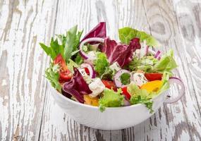 frischer leckerer Salat