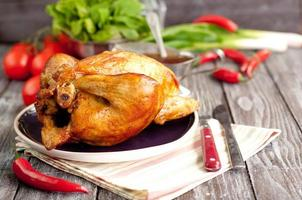 gebratenes Hühnchen