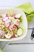Salat mit Radieschen foto