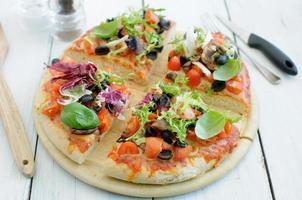 Gourmet-Pizza foto