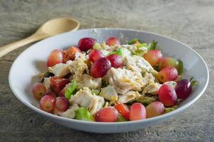 frisch gemischter Salat foto