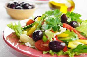 gesunder Gemüse frischer Bio-Salat