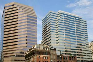 Baltimore Reflexionen - das Alte und das Neue foto