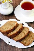 Pastetchenkuchen mit Rosinen foto