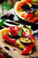 Gemüsetorte Ratatouille foto