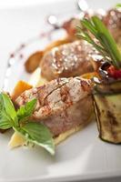 Fleisch mit Kartoffeln foto