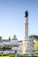 afonso de albuquerque square, lissabon, portugal