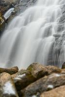 Wasserfallfelsensteine Herbst