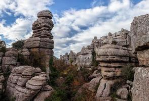 Steinformationen foto