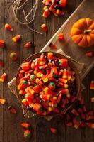 festliche zuckerhaltige Halloween-Süßigkeiten