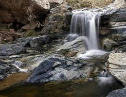 Wüstenwasserfall foto