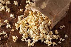 hausgemachtes Kessel Mais Popcorn