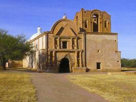 Tumacacori Mission, Tuscon, Az foto