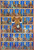 Fresko im Rila-Kloster foto