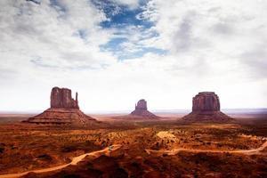 das Monument Valley, Landschaften, USA