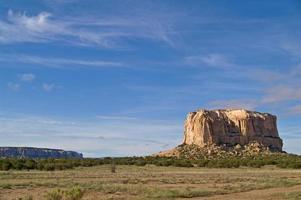 verzauberte Mesa, New Mexico, USA foto