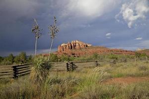 Monsun in Sedona Arizona foto