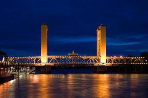 Turmbrücke in Sacramento foto