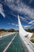 Sonnenuhr Brücke foto
