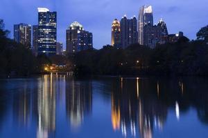 Atlanta im Piemont Park foto