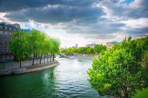der Fluss Seine foto