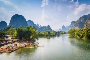 Yulong Fluss foto