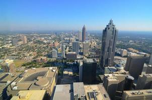 Atlanta Luftaufnahme foto