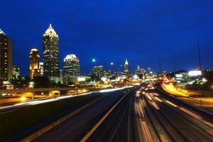 Hauptverkehrszeit in Atlanta, Georgia