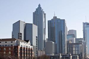 Innenstadt von Atlanta, Skyline von Georgia foto