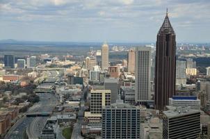 Luftaufnahme von Atlanta, Georgia foto