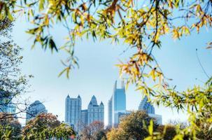 Atlanta aus dem Piemont Park foto