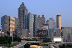 Innenstadt von Atlanta, Georgia foto
