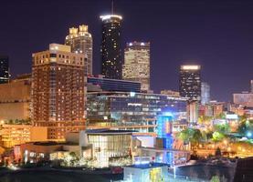 Innenstadt von Atlanta Georgia foto