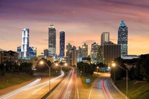 Bild der Skyline von Atlanta foto