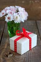 Valentinstag Geschenk foto