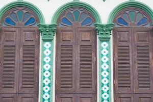 alte gebäude im sino portugiesischen stil