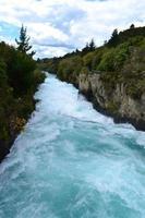 huka fällt, neuseeland foto