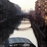 Fluss naviglio foto