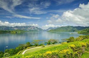 ratchaprapha dam surat thani provinz, thailand