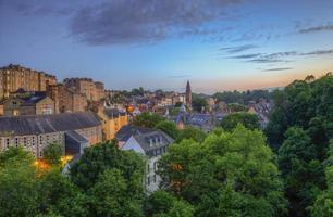 Edinburgh Sommerabend foto
