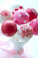Valentinstag Cake Pops foto