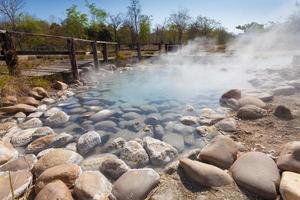 Heiße Quelle foto