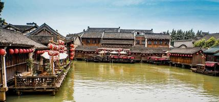 Landschaft von Wuzhen in China