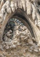Spanien, Barselona, Sagrada Familia. foto