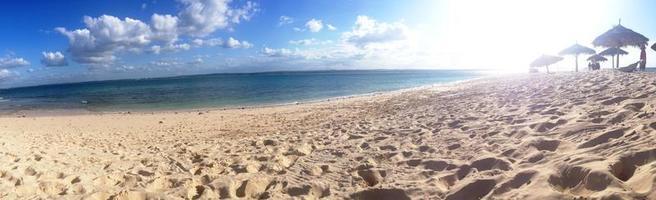 Blick auf die Insel Bongoyo foto