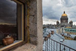 Die Kathedrale von Saint Isaac in Sankt Petersburg, Russland foto
