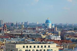 Luftaufnahme von der Isaak Kathedrale, Saint Petersburg foto