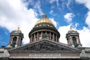 Die Kathedrale von Saint Isaac in St. Petersburg foto