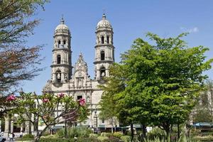 touristische Denkmäler der Stadt Guadalajara foto