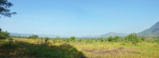 Panorama Aussichtspunkt von Payathonsu im Bundesstaat Kayin, Myanmar.
